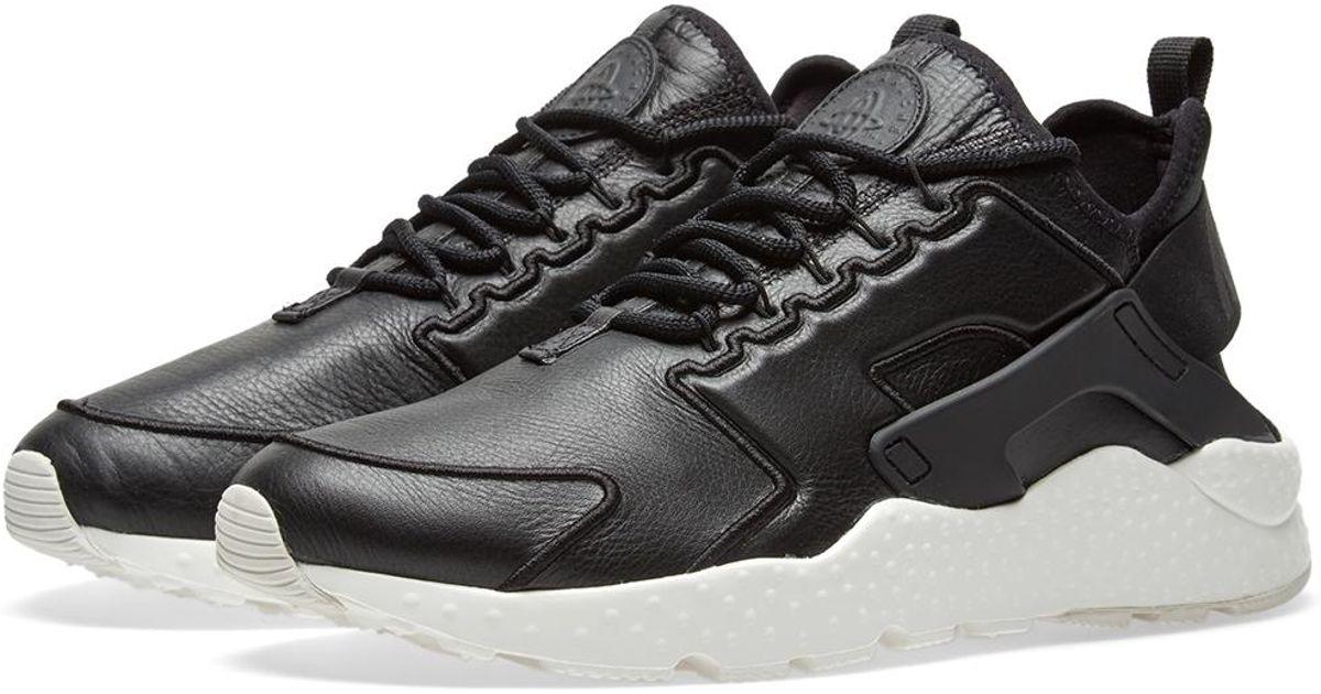 finest selection 717a9 7f85f Lyst - Nike W Air Huarache Run Ultra Si in Black