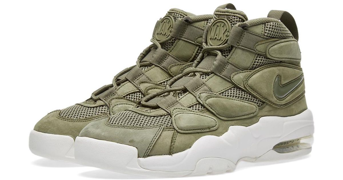 cheap for discount c9eeb d2547 Lyst - Nike Air Max 2 Uptempo Qs in Green for Men