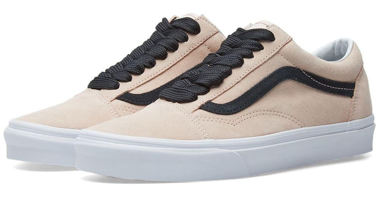 bb6bd7e42a Lyst - Vans Ua Old Skool Oversized Lace in Pink for Men