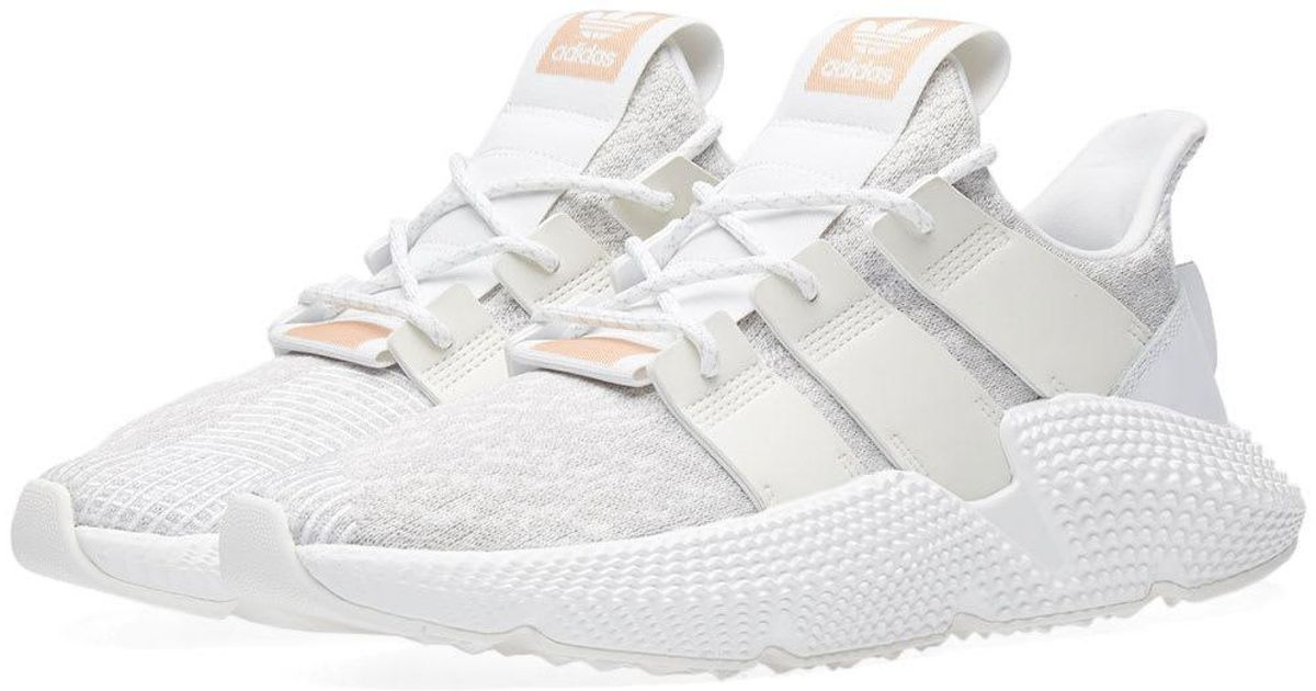 29886cbf6ecf Lyst - adidas Prophere W in White