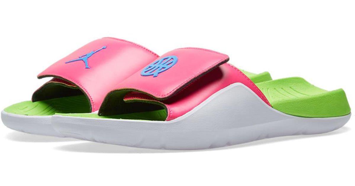 5612dd270 Lyst - Nike Air Jordan Vii Hydro  quai 54  in Pink for Men