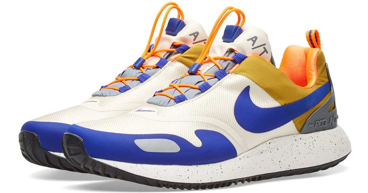 347780c81d601 Nike Air Pegasus A t Winter Qs in Blue for Men - Lyst