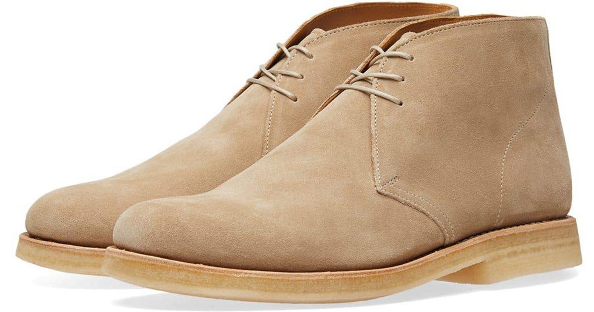 d703598577d475 Grenson Oscar Chukka Boot in Brown for Men - Lyst