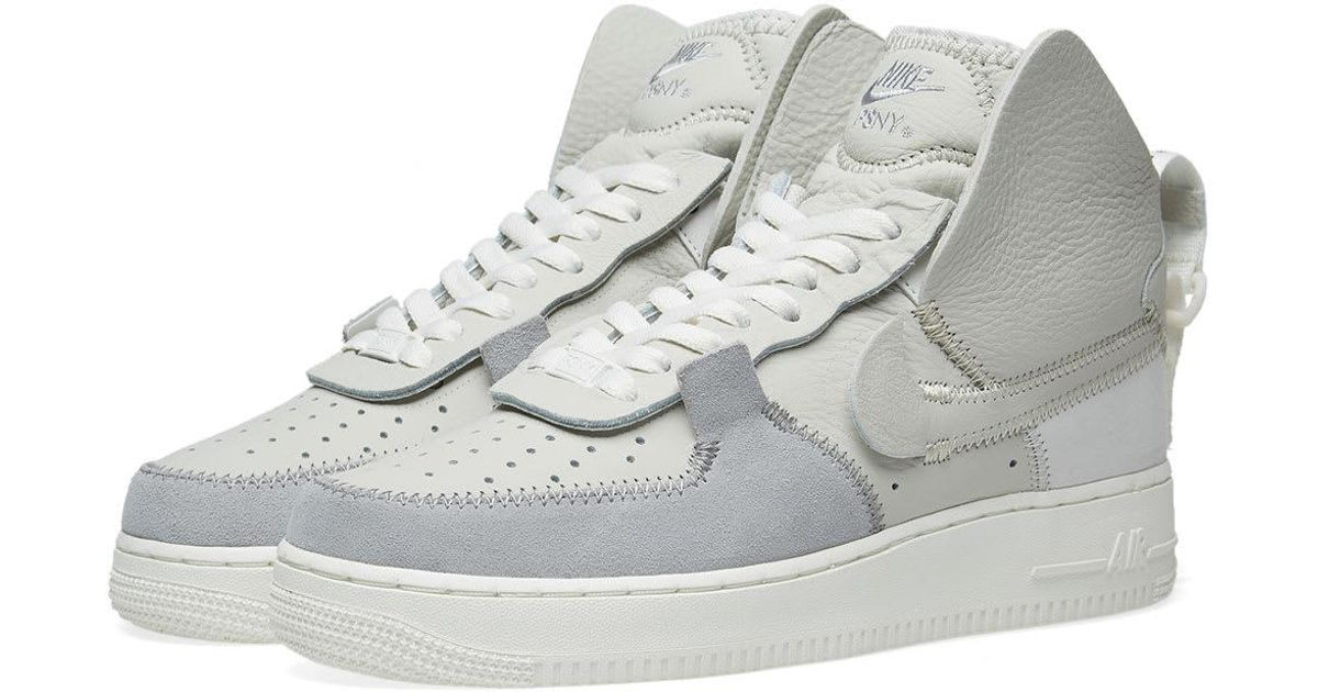 83b18e6111ddfe Lyst - Nike Air Force 1 High Psny in Gray for Men