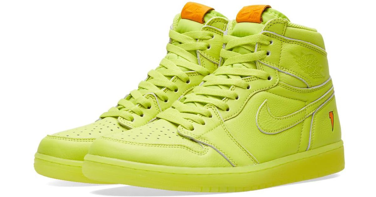 36fd1a8ec3f Lyst - Nike Nike Air Jordan 1 Retro Og  gatorade  in Yellow for Men