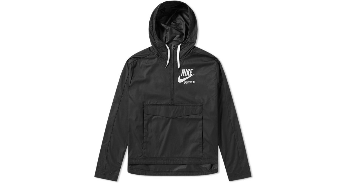 7095f4908c02 Lyst - Nike Archive Pullover Jacket W in Black for Men