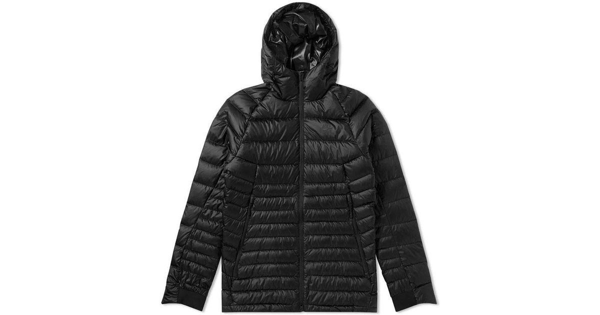 Lyst - Nike Guild Hooded Down Jacket in Black 961902cf1
