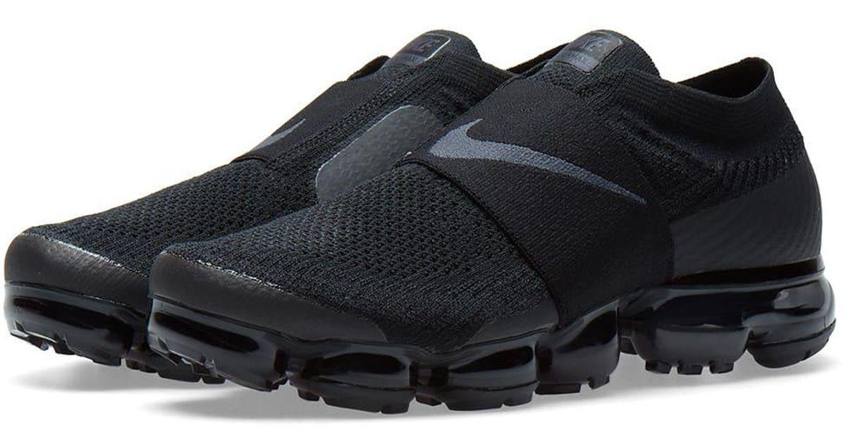 c26551d4110 ... Lyst - Nike Air Vapormax Flyknit Moc W in Black ...