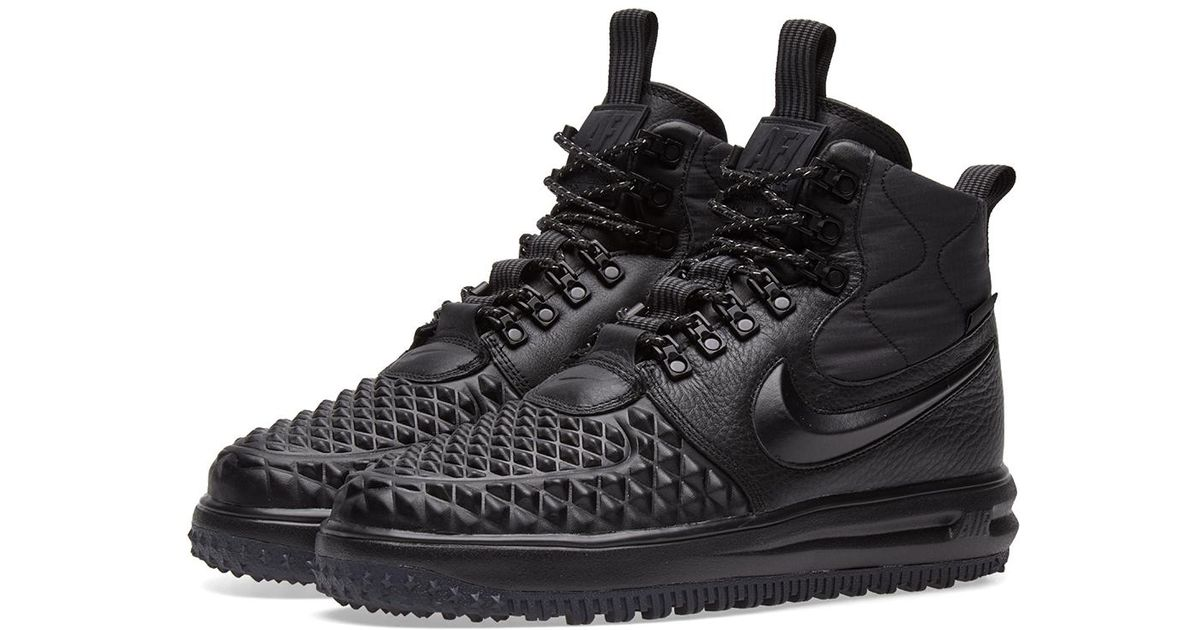 reputable site c85ed 92725 Nike Lunar Force 1 Duckboot  17 in Black for Men - Lyst