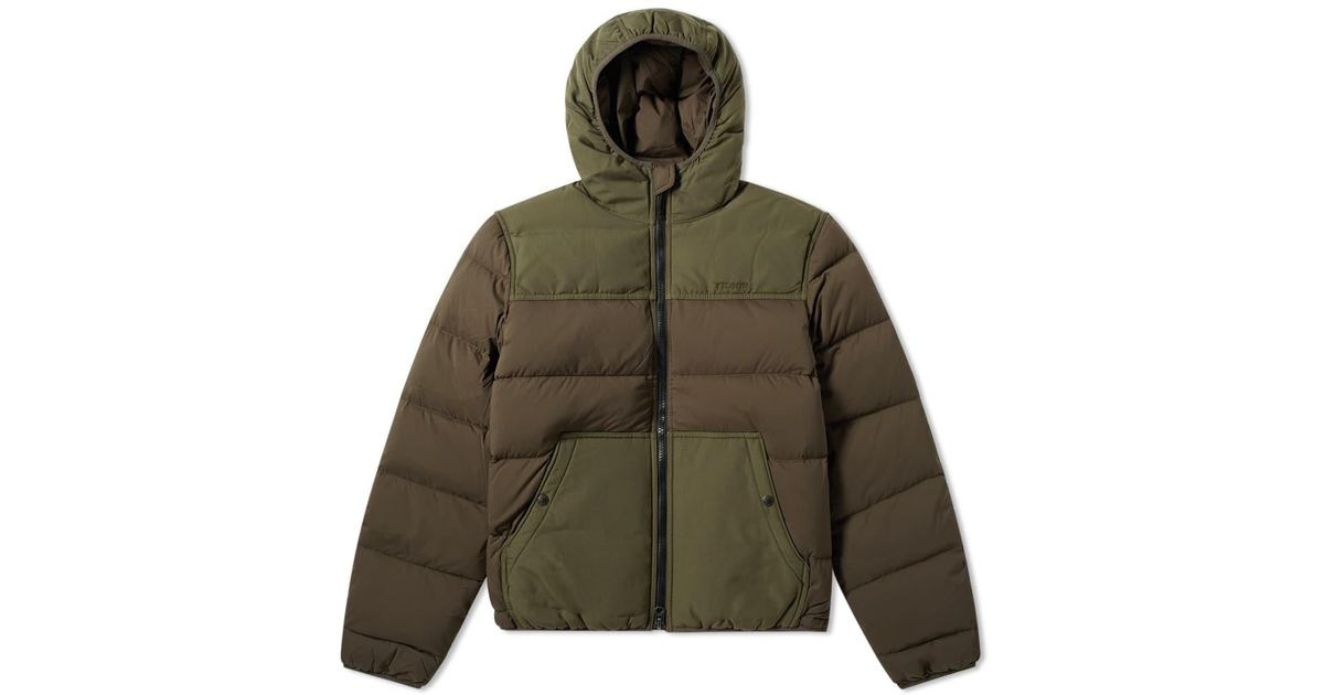 e491206a3ec Filson Featherweight Down Jacket in Green for Men - Lyst