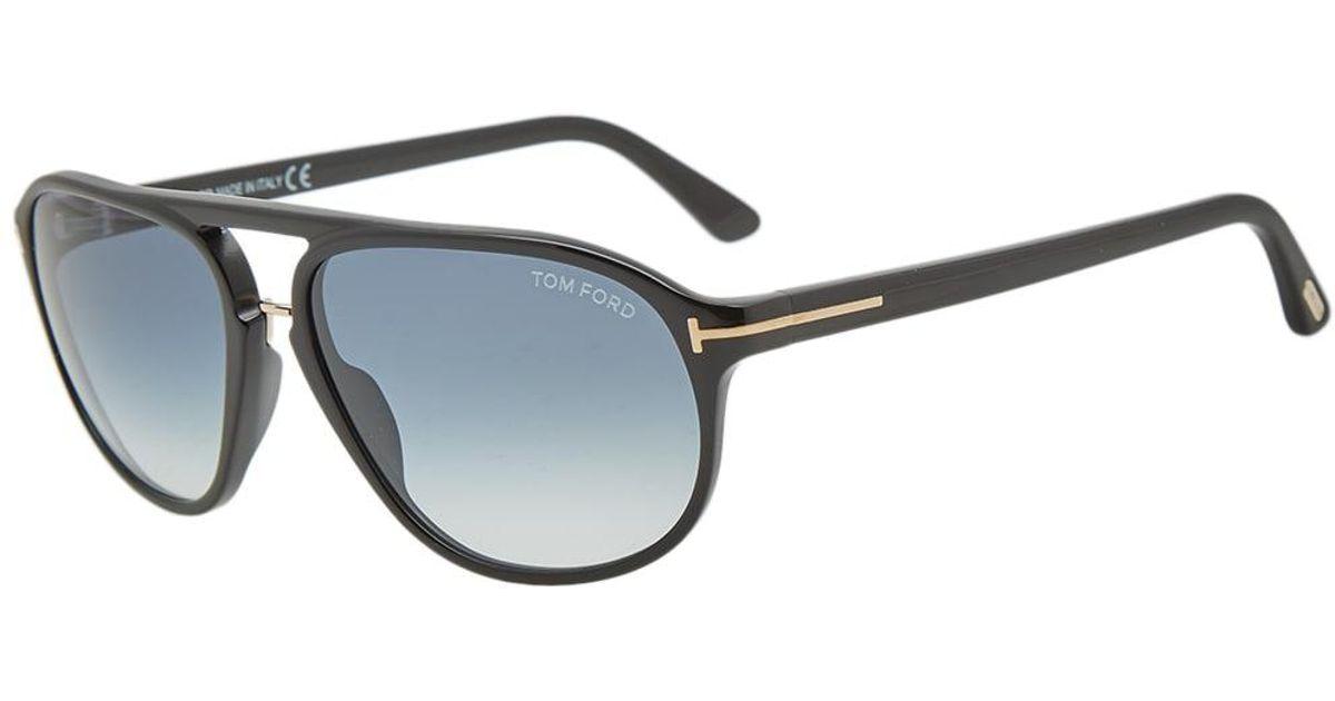 438f9999950 Lyst - Tom Ford Tom Ford Ft0447 Jacob Sunglasses in Black for Men