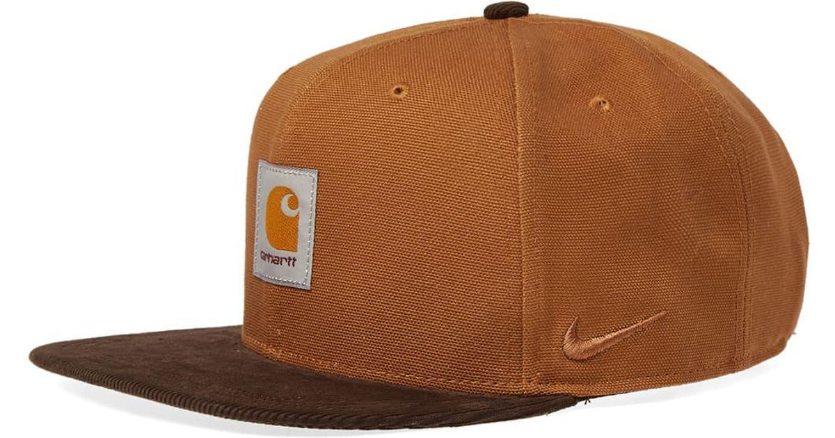 best sneakers 1bd6c 565a3 34c09 50e29  coupon code nike nrg pro wip cap in brown for men lyst 6c45a  21363