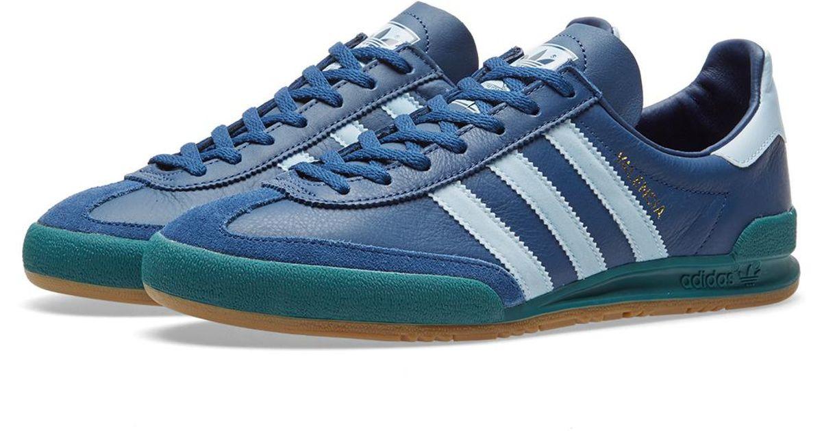check out 3e96e e4bbe adidas Originals Jeans  valencia  in Blue for Men - Lyst