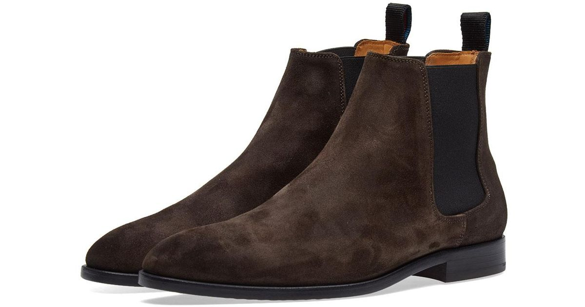 010ade302ef Lyst - Paul Smith Gerald Chelsea Boot in Brown for Men