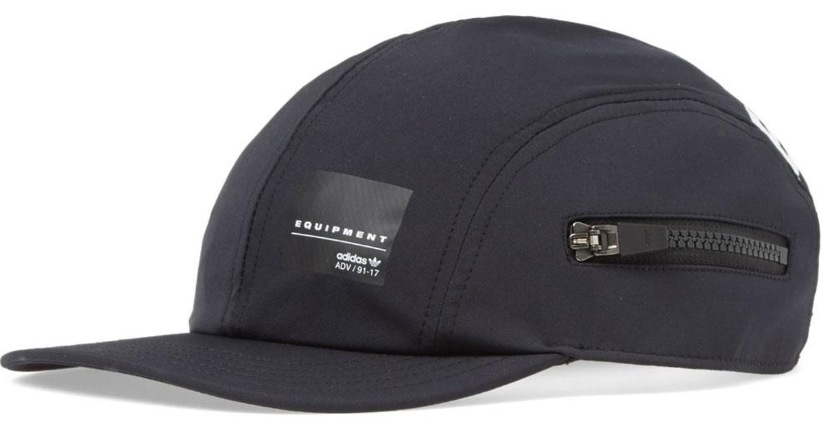 Lyst - adidas Eqt Zip Cap in Black for Men 24210934d0d