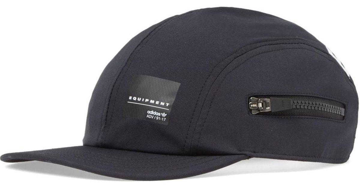 617cd84798105 adidas Eqt Zip Cap in Black for Men - Lyst