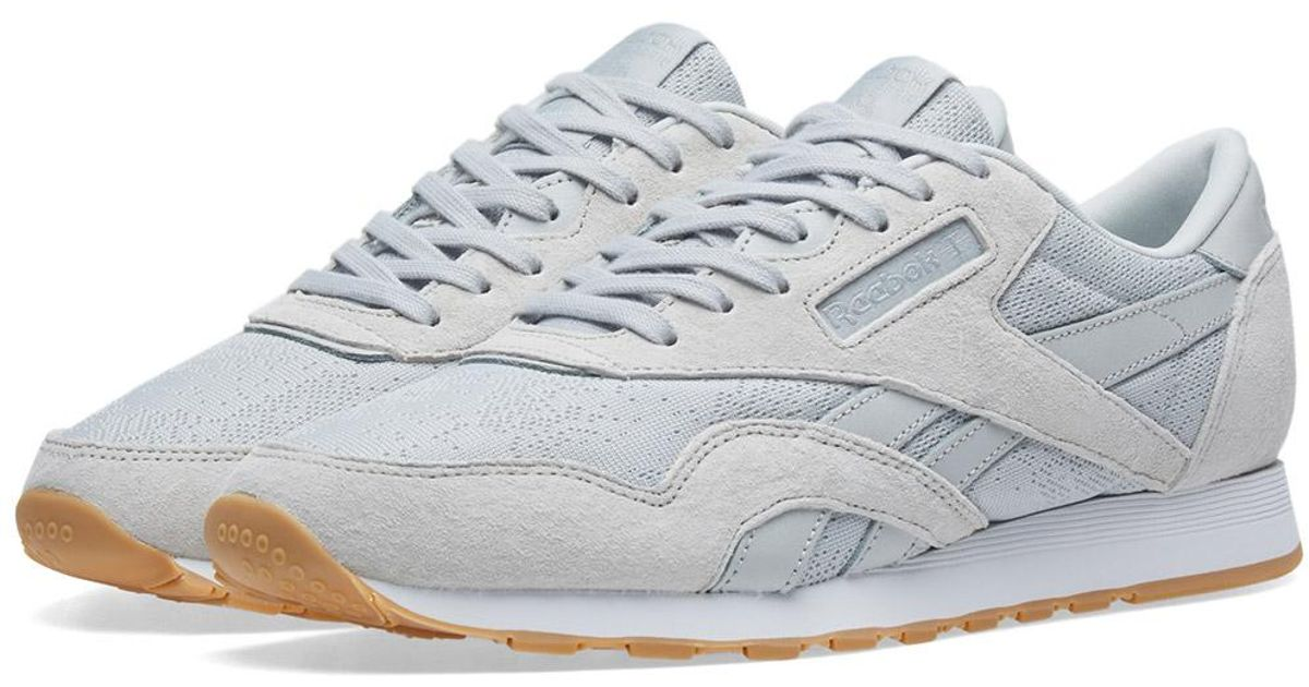 712b7ed1580 Reebok Classic Nylon Hs in Gray for Men - Lyst