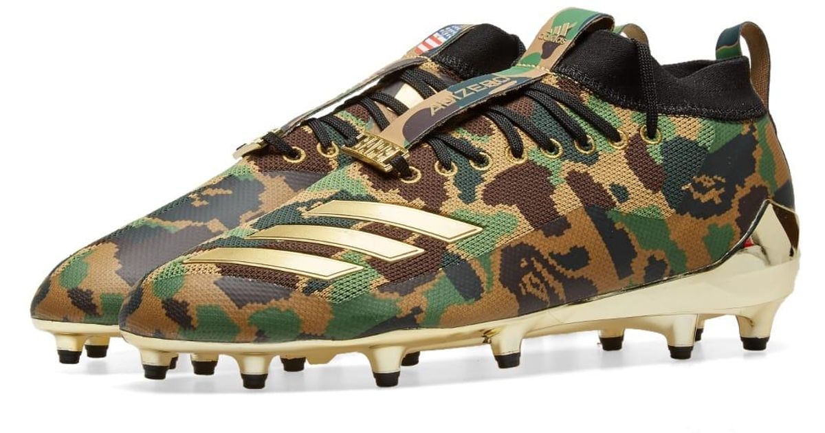 ff197dce3 Lyst - adidas Originals Adidas X Bape Cleat in Green for Men