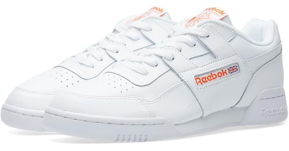 6463297326b26 Reebok Workout Plus Mu in White for Men - Lyst
