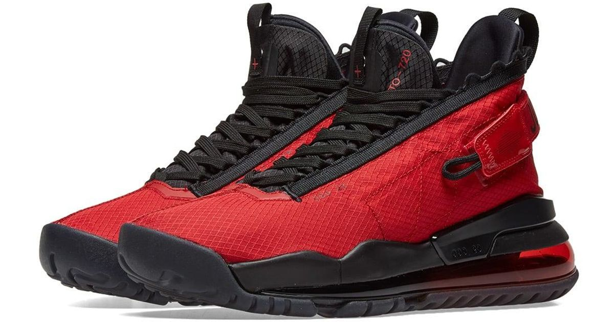 uk availability f99cf b5443 Nike Jordan Proto-max 720 in Red for Men - Save 4% - Lyst