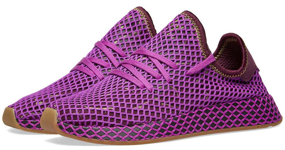 97e6bca25e248 Lyst - adidas X Dragon Ball Z Deerupt Runner  son Gohan  in Purple for Men