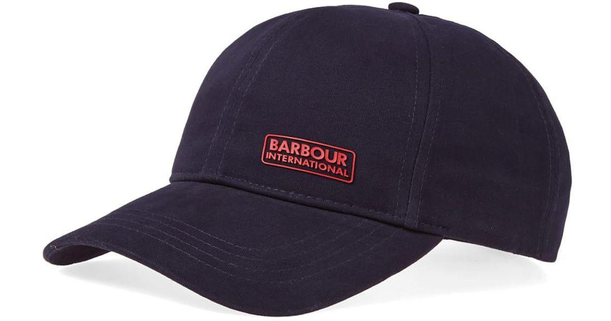 3ff20184198 Lyst - Barbour International Norton Drill Cap in Blue for Men