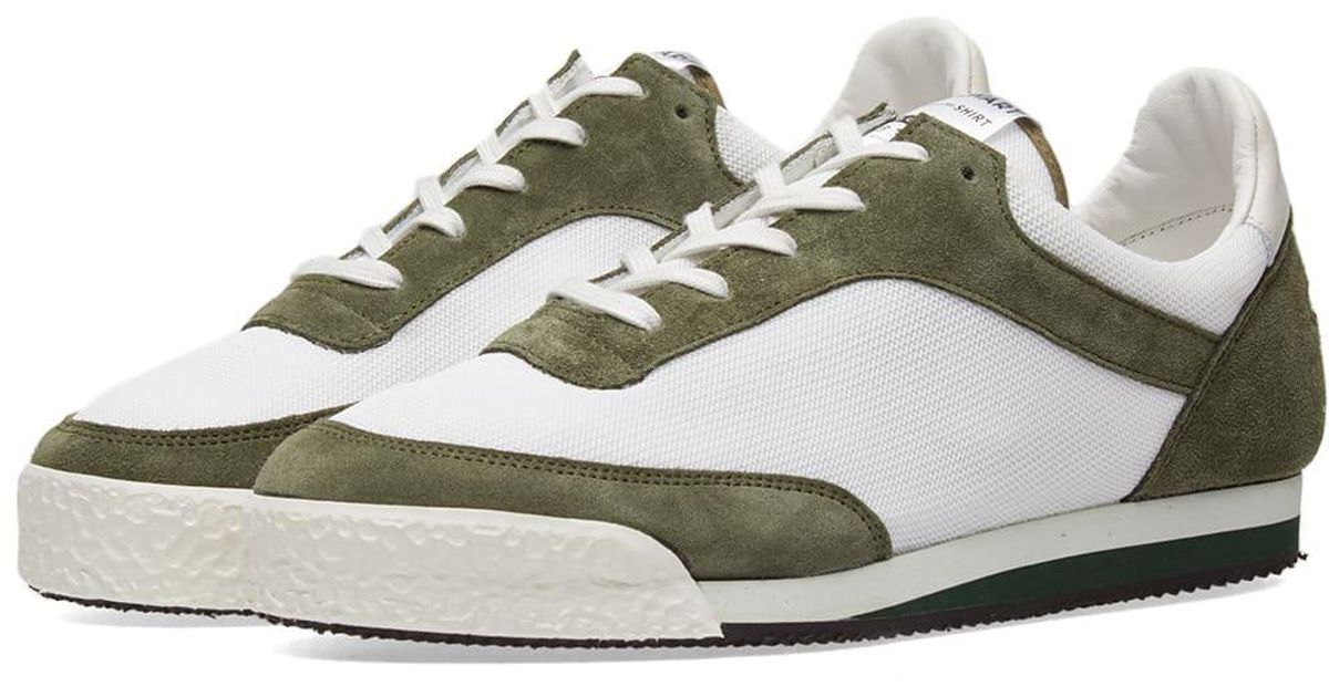 91a3ca18e531 Lyst - Comme des Garçons Comme Des Garcons Shirt X Spalwart Pitch Sneaker  in Green for Men