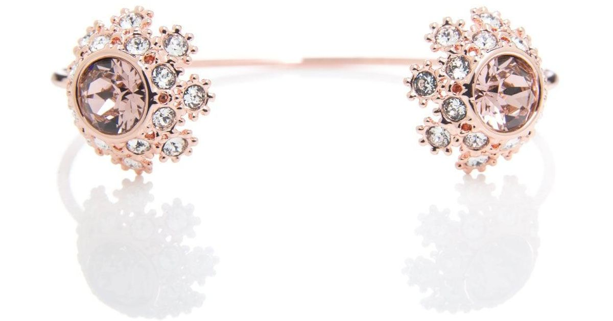 a206b85bf Ted Baker Senniie Daisy Lace Cuff in Pink - Lyst