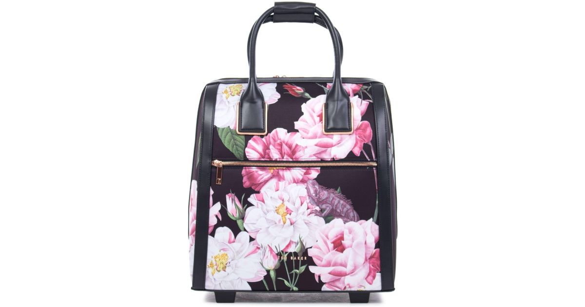 07e27da82dd72 Ted Baker Iguazu Print Travel Bag in Black - Lyst