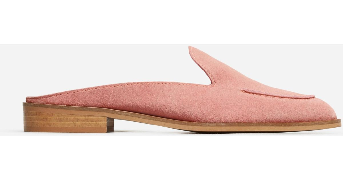 d62093687ba7d Everlane The Modern Loafer Mule in Pink - Lyst