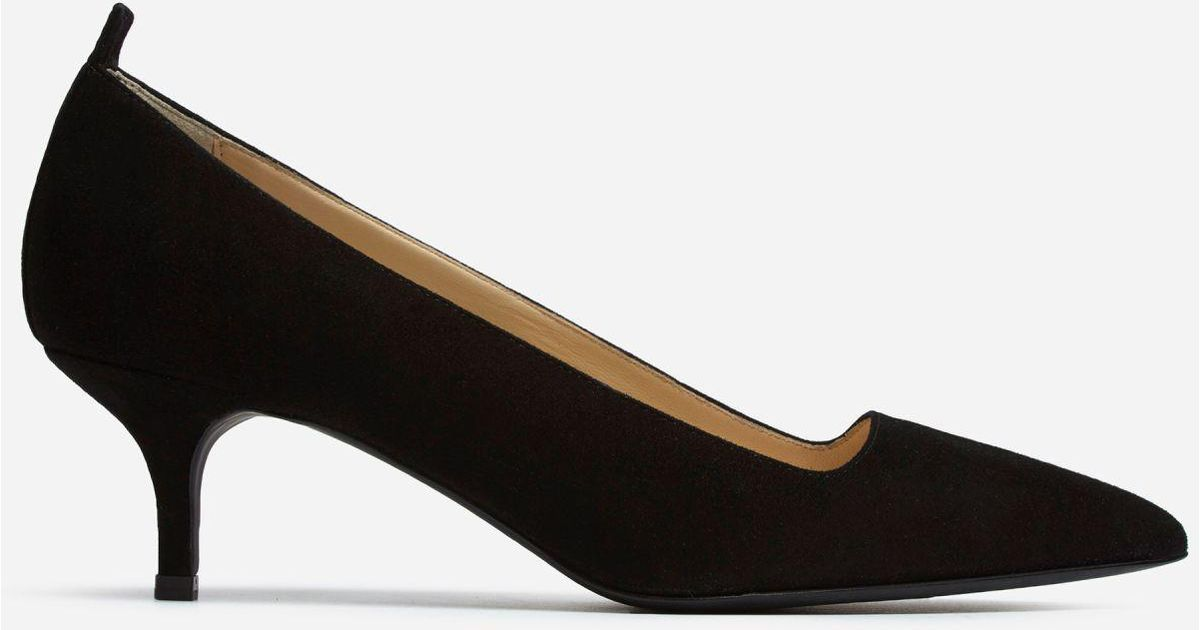e6d5a728c7 Everlane The Editor Heel in Black - Lyst