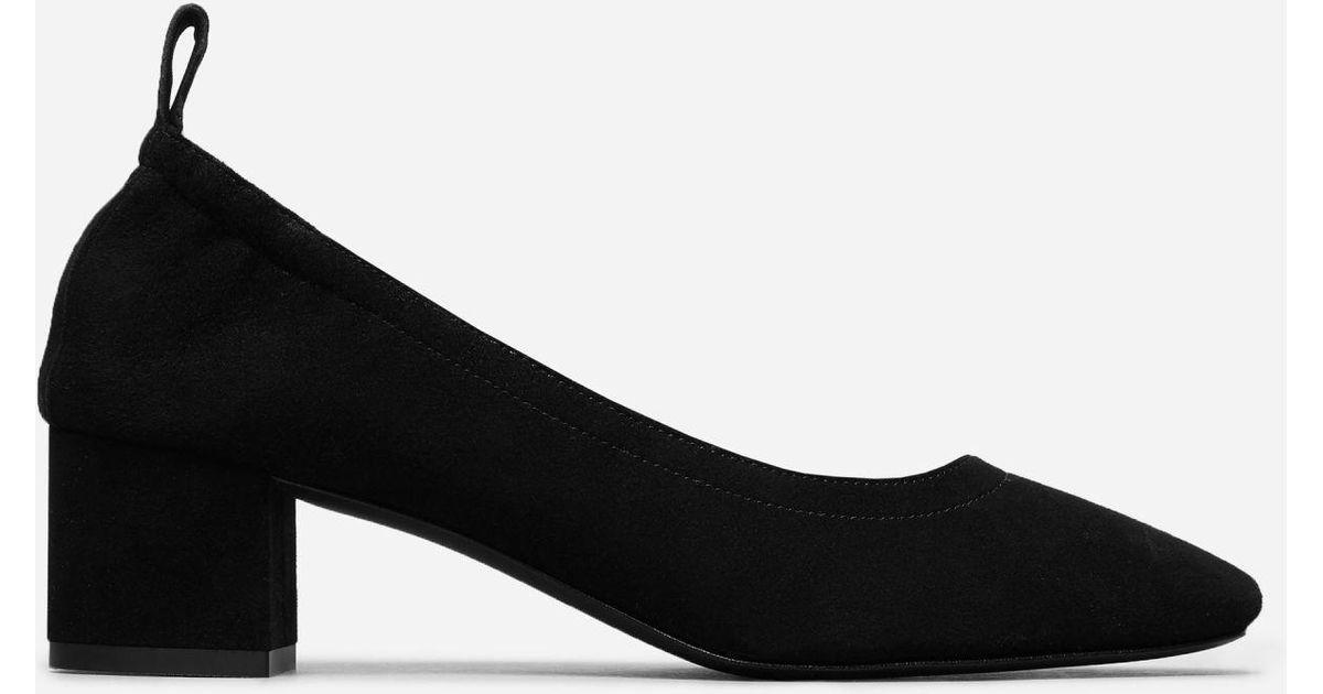 b6cd30f4319 Lyst - Everlane The Day Heel in Black