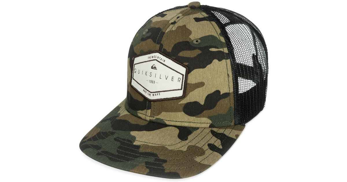 7ff781444447ca ... order lyst quiksilver forever hat in green for men 9c52d 83d76 ...