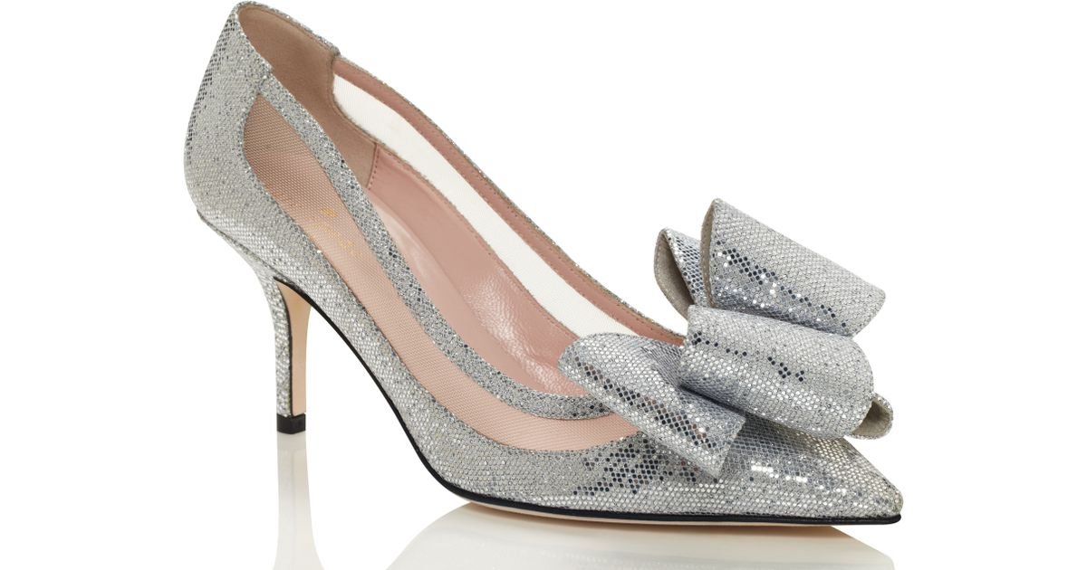 26c0904f512 Lyst - Kate Spade Jackie Heels in Metallic