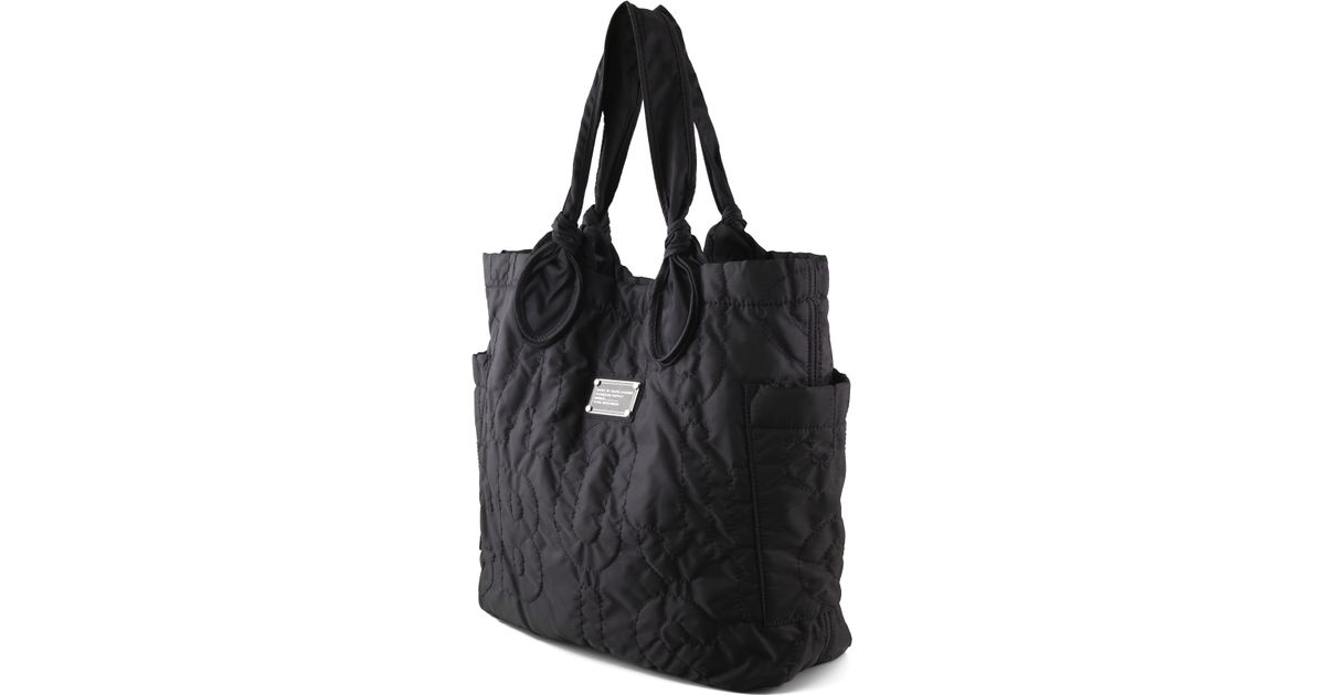 ce5093be640d Lyst - Marc By Marc Jacobs Tate Quilted Tote in Black