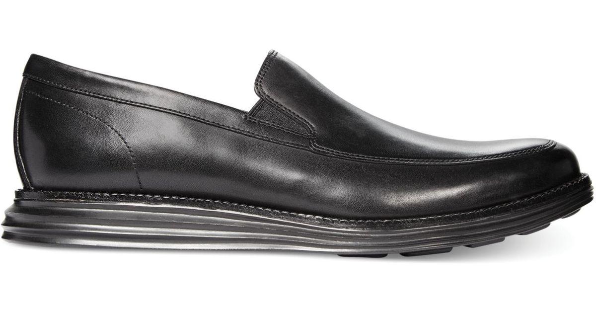 e091d5fbf5e Lyst - Cole Haan Lunar Grand Venetian Loafers in Black for Men