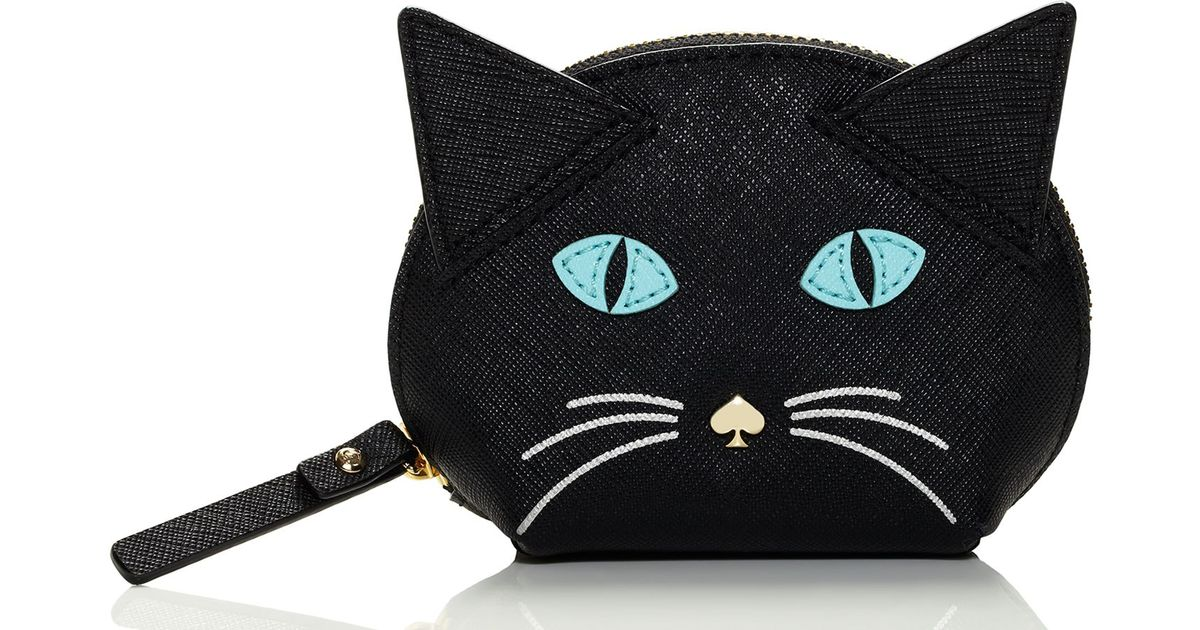 kate spade cat coin purse