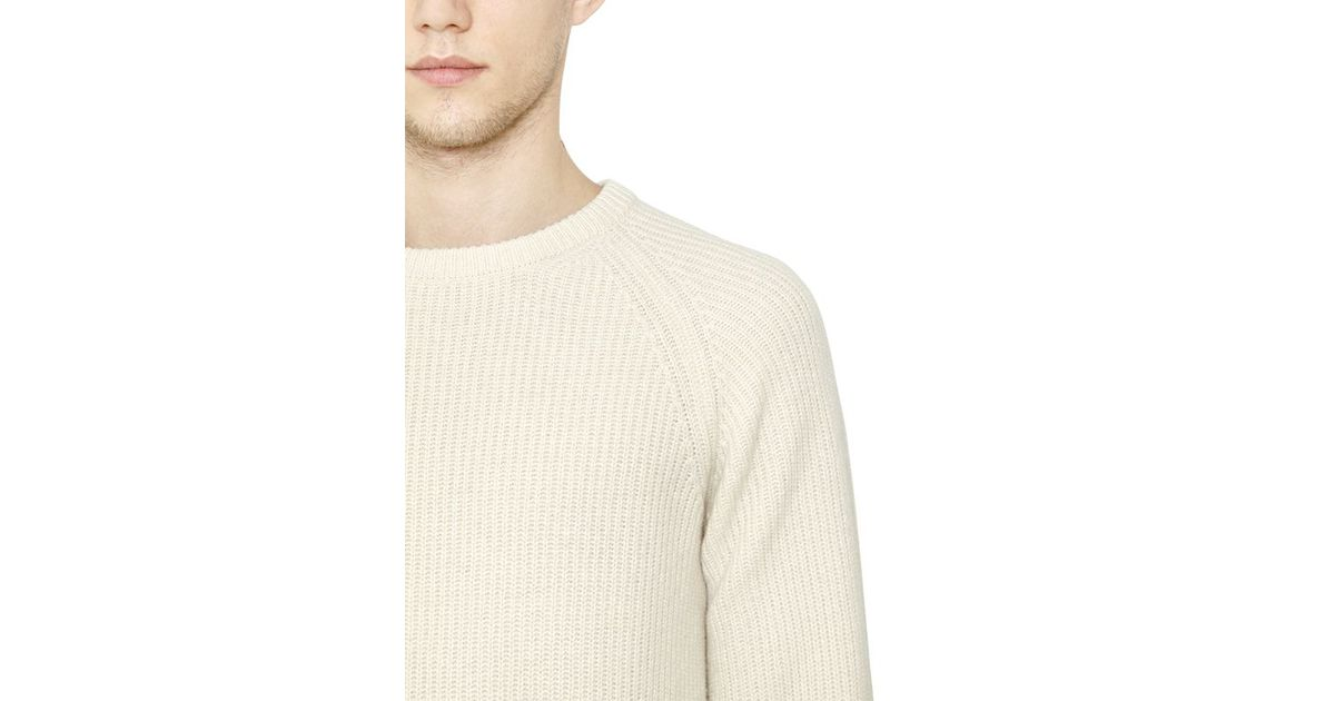 Stretch-knit Sweater - Cream Christophe Lemaire Cheap Sale 2018 OMquX