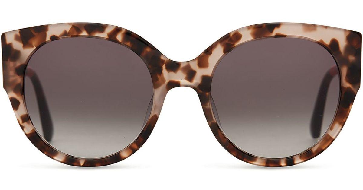 4888bba9feff3 Lyst - TOMS Luisa Oversized Cat Eye Sunglasses