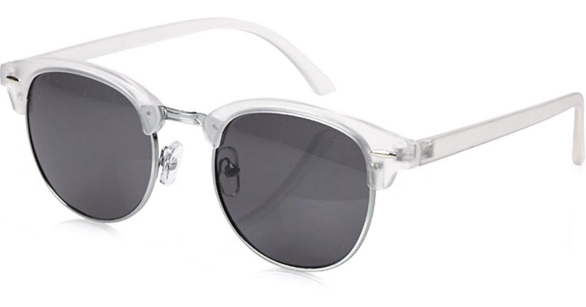 Lyst - Forever 21 Acrylic Frame Clubmaster Sunglasses for Men