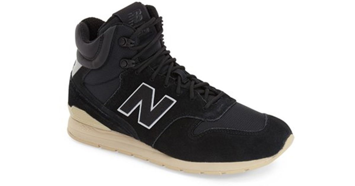 0b96015d3cb ... coupon for lyst new balance 696 outdoor high top sneaker in black for  men bf409 52f81