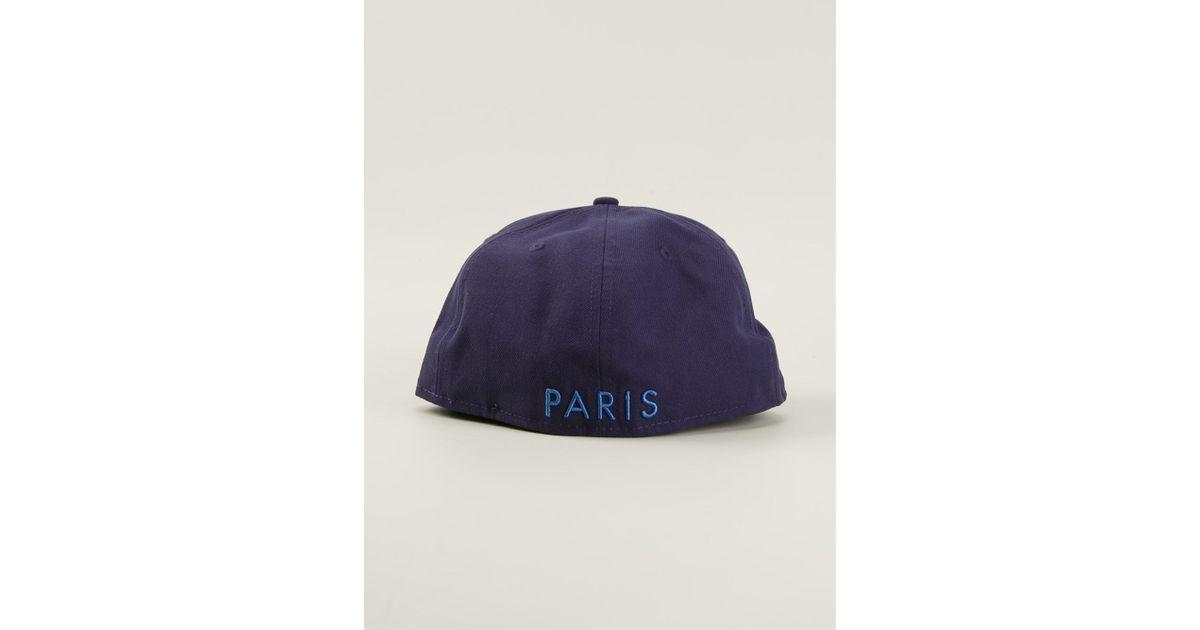 c8925b5e544 KENZO  Monster New Era  Cap in Blue for Men - Lyst