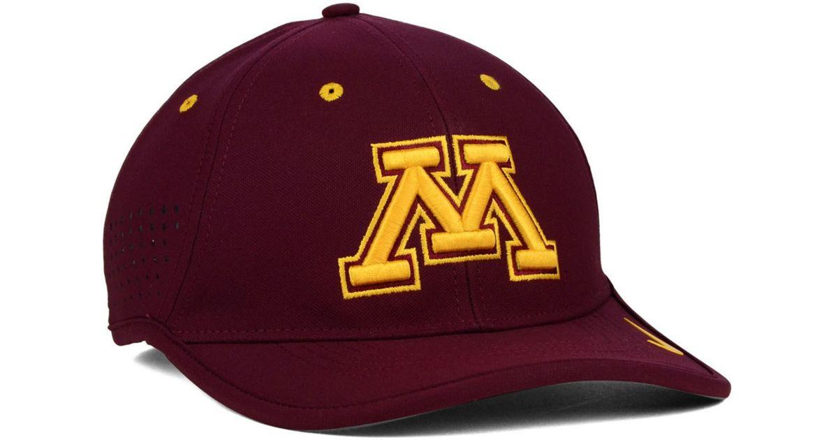 buy popular 05743 55854 Nike Minnesota Golden Gophers Dri-fit Coaches Cap in Purple for Men - Lyst