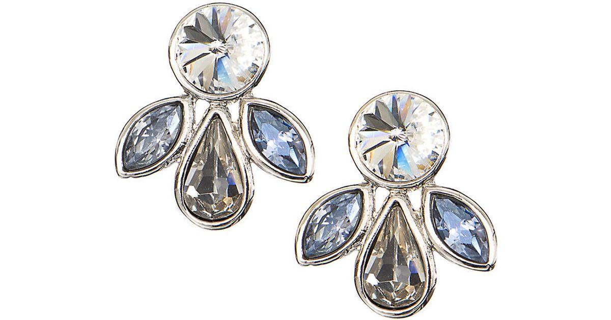 Givenchy Folded Metal Earrings in Metallics cBm46gz