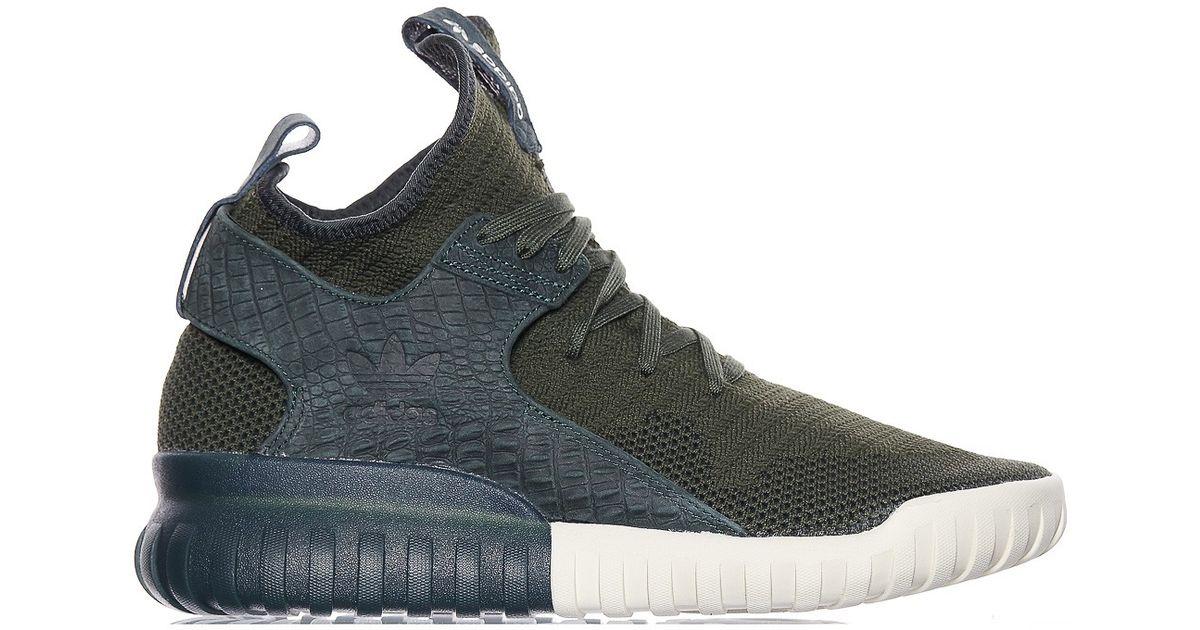 e1e55f4659854 ... promo code for lyst adidas originals tubular x primeknit sneakers in  green for men be75e 6132a