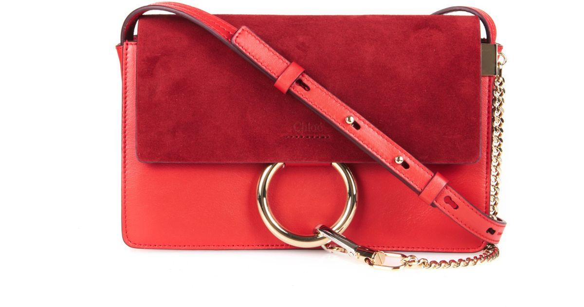 fake chloe purse - chloe faye small suede and leather cross-body bag, chloe elsie ...
