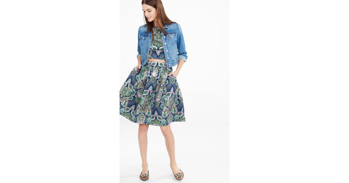 High Waisted Full Midi Skirt - Dress Ala