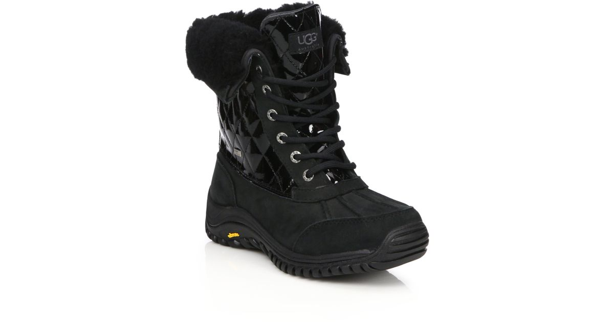 ugg adirondack boot ii animal print