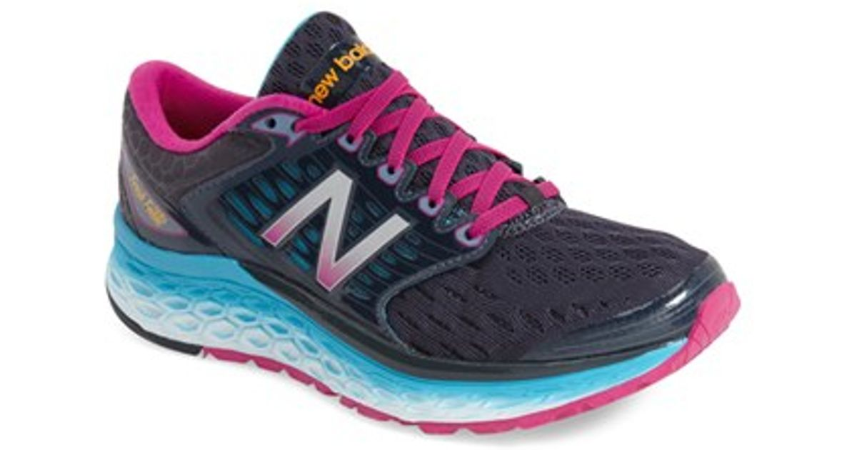new balance 39 1080 fresh foam 39 running shoe in pink lyst. Black Bedroom Furniture Sets. Home Design Ideas