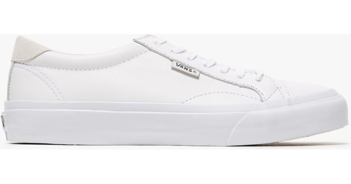 fee411ca2041c5 Lyst - Vans Court Leather In True White in White